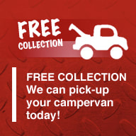 FREE scrap campervan or motorhome collection